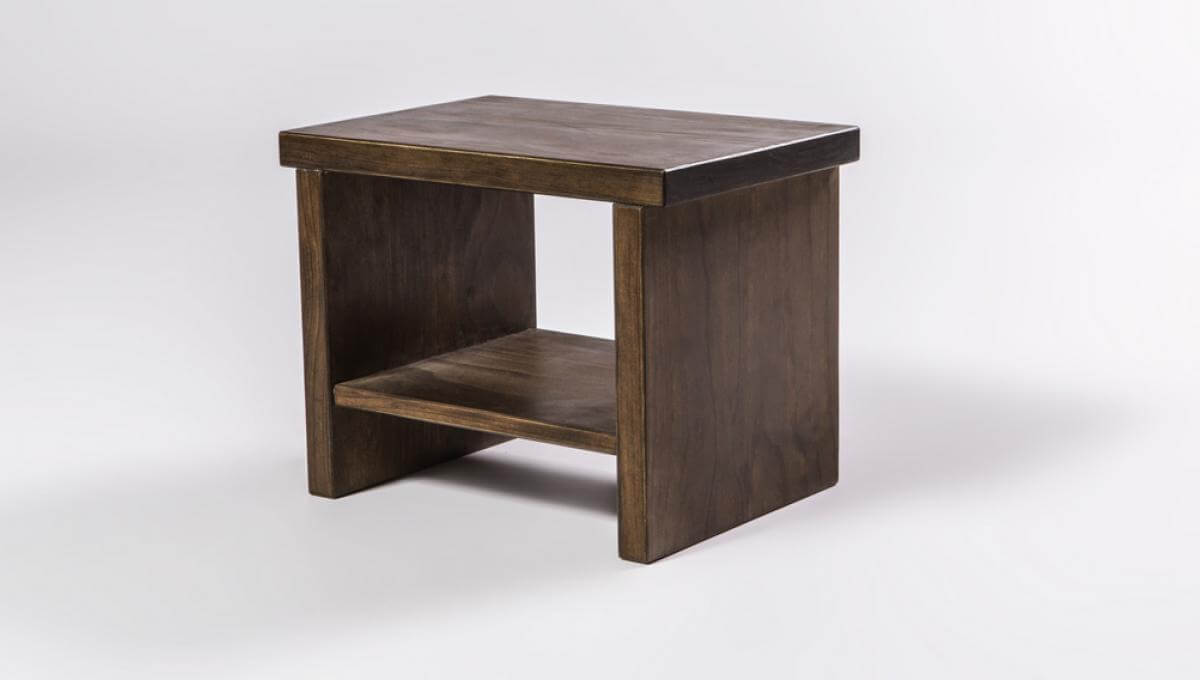 Classic Bedside Table (Java Timber)