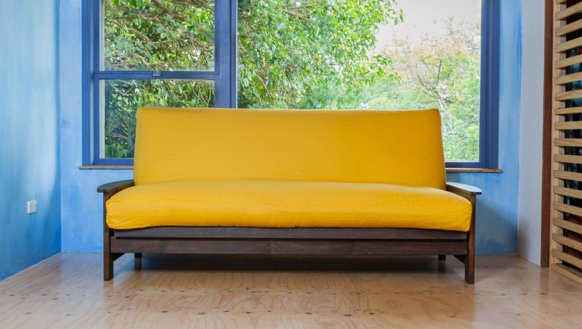 Latex Wool Futon With Natural Cotton Organic And New Zealand