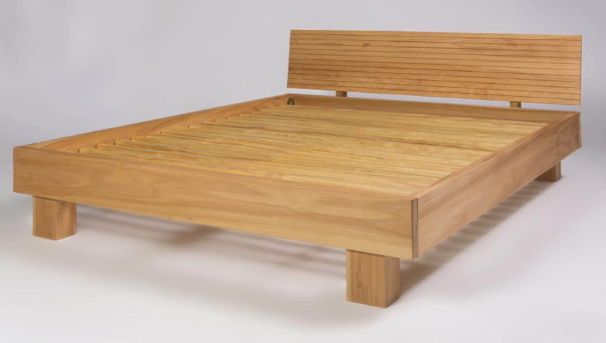 Riva Frame (King Size) made with Macrocarpa Timber
