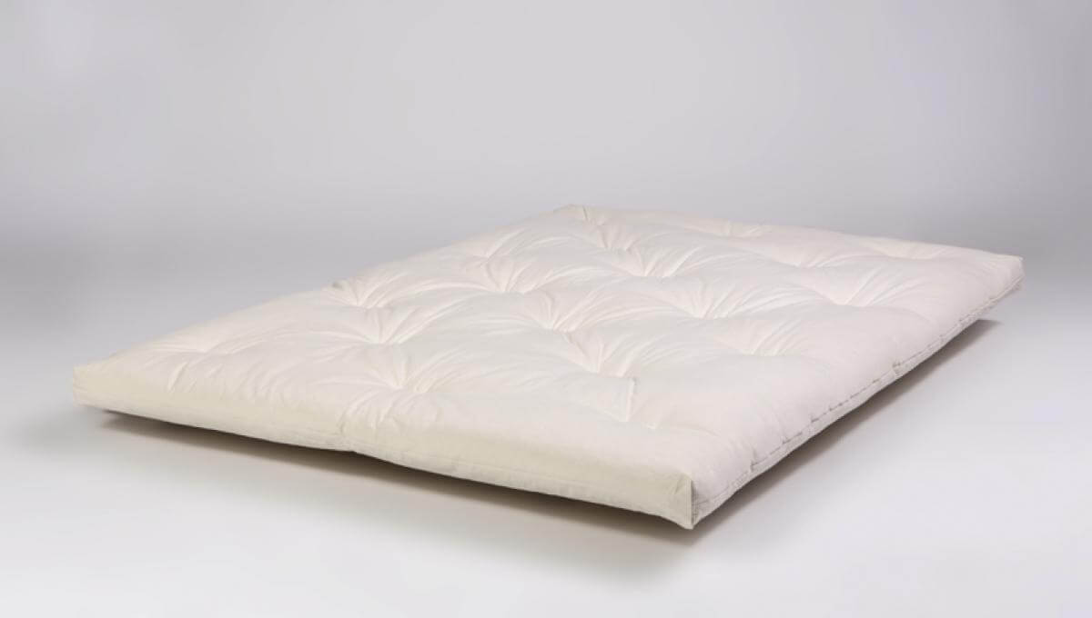 Tradition Futon hand crafted from 100% natural cotton