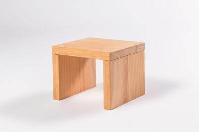 Havana Bedside Table (Macrocarpa Timber)